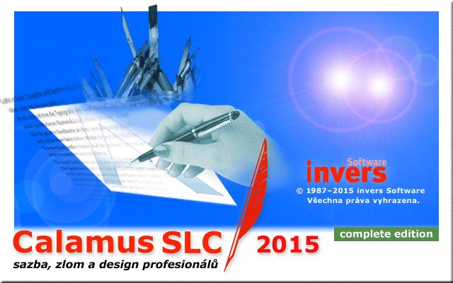 Kompletní cena za Calamus SLC 2015 (nový nákup)