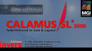 Calamus SL2000 lite edition