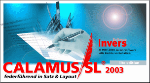 Calamus SL2003 lite edition