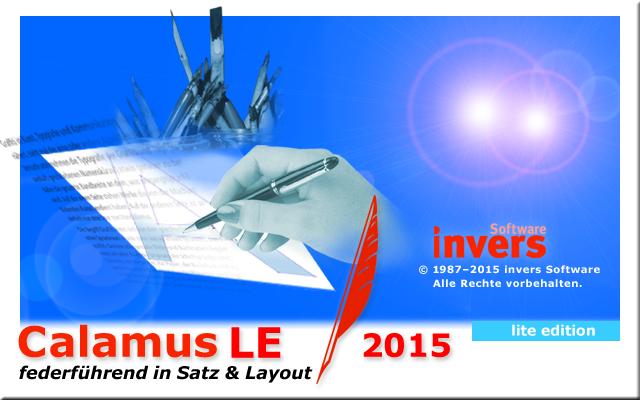 Calamus LE 2015 (lite edition)