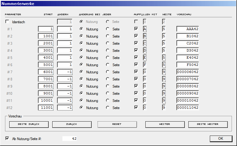 Nummerierwerke